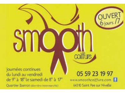 Smooth coiffure