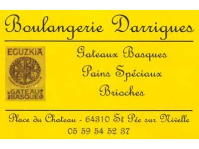 Boulangerie Darrigues