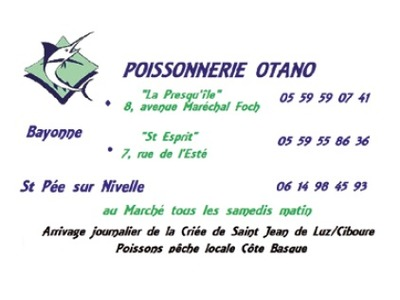 Poissonnerie OTANO